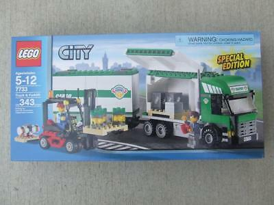 New Lego City 7733 Truck Forklift Airport Train 31827894
