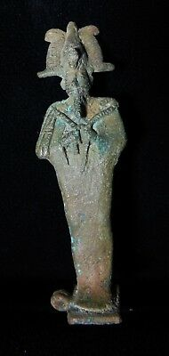 Zurqieh -As5466- Ancient Egypt. Bronze Statue Of Osiris.  600 - 300 B.c