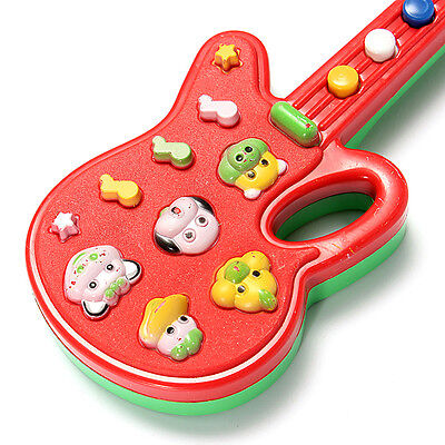 Toddler Baby Educational Electronic Guitar Toy Sound Music Play Kids-Funny