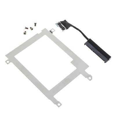 Hard Disk Drive Caddy Tray Bracket SATA Cable Connector For Latitude Dell E7440
