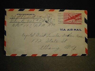 APO 447 GOPPINGEN, GERMANY 1945 WWII Army Cover 925th FA Bn Soldier's Mail