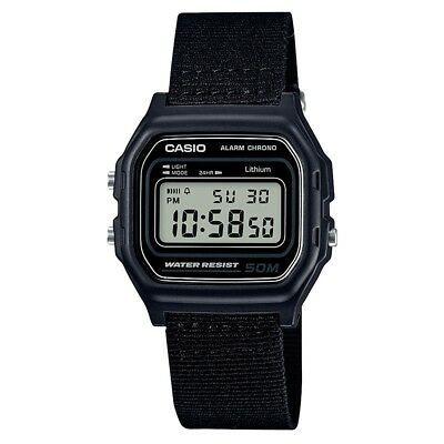 Casio Collection Digital LCD Watch with Stopwatch Timer and Alarm W-59B-1AVEF