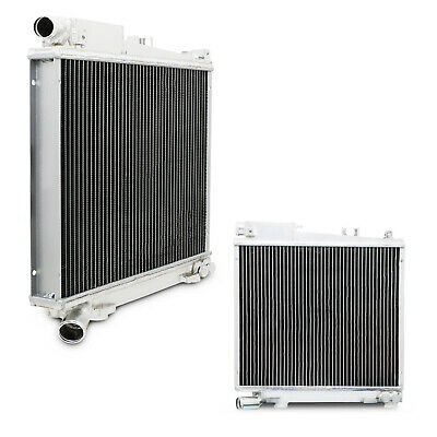 42mm ALUMINIUM ALLOY RACE COOLING RADIATOR RAD FOR BMW 3 SERIES E30 325i 85-87