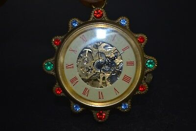 Chinese Copper the Hand-mechanical Used Chinese bead usable work Clock
