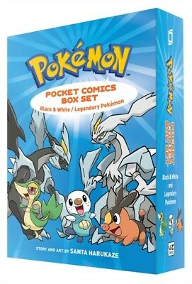 POKEMON POCKET COMICS BOX SET, Harukaze, Santa, 9781421589640