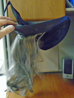 Witch's Halloween Hat, Wig and 5' Cape - Used but in Excellent Condition