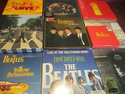 Beatles 1St Editions Anthology, Bbc, Love, #1 Hits, Naked, Sub Anniversary Sets
