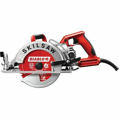 Skilsaw Magnesium Lightweight Worm Drive Circular Saw- 7 1/4in 15A #SPT77WML-22
