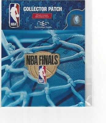 2018 NBA The Finals Official Patch Cavaliers Warriors NEW Design
