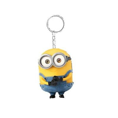 Genuine Despicable Me Minions 'Bob' Banana Scented 3D Keyring Fob Key Ring Gift