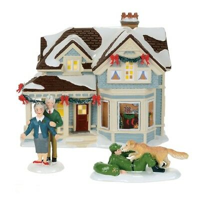Department 56 Snow Village Home for the Holidays Building Figurine 4059386 New