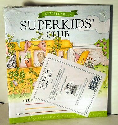 Lot of 5 Superkids Reading Program Kindergarten Brand New FREE SHIPPING !!