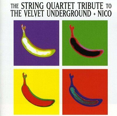 Various - String Quartet Tribute to Velv - Various CD 0SVG The Cheap Fast Free