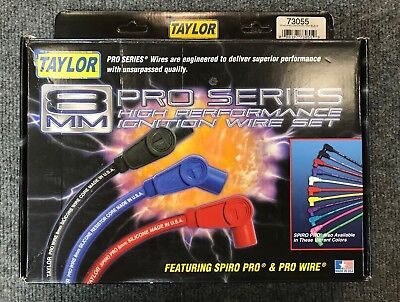 Taylor 8Mm Pro Series High Performance Ignition Wire Set