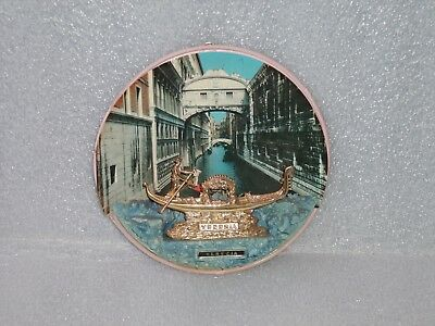 Vintage V.cort Wall Hanging Souvenir From Venezia/Venice, Made In Italy, 1960-70