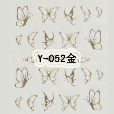 New Butterfly Water Transfers Nail Decals Nail Art Sticker for Gel Polish