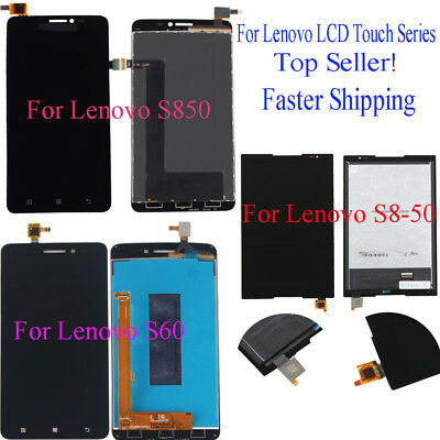 For Lenovo S850 S60 S8-50 Series LCD Touch Screen Glass Digitizer Assembly @1H