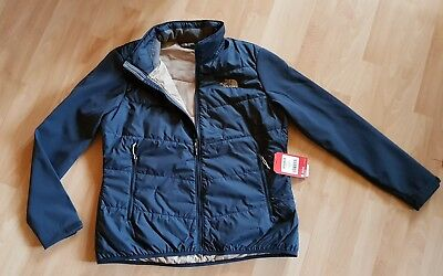 "Damen Softshell Jacke The North Face ""W ARASHI Hybrid Softshell T937FN navy XL"