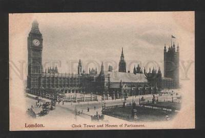054927 UK London London Clock Tower Vintage PC