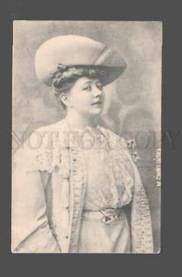 082955 CWIKLINSKA Famous OPERA Star vintage PHOTO PC