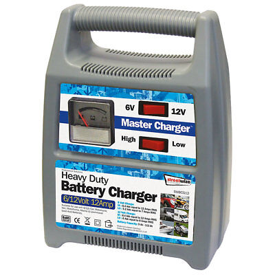 Streetwize SWBCG12 7-12A Automatic Battery Charger 6 / 12V