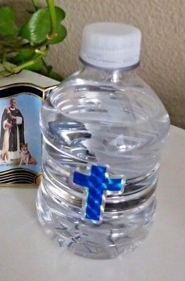 8 oz Bottle of HOLY WATER blessed by POPE FRANCIS Agua Bendita de PAPA FRANCISCO