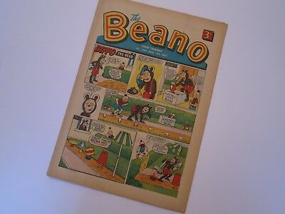 The BEANO Comic - No 1287 - 18th March 1967 - Very Good Condition
