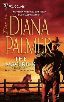 The Maverick (Silhouette Desire) by Palmer, Diana Book The Cheap Fast Free Post