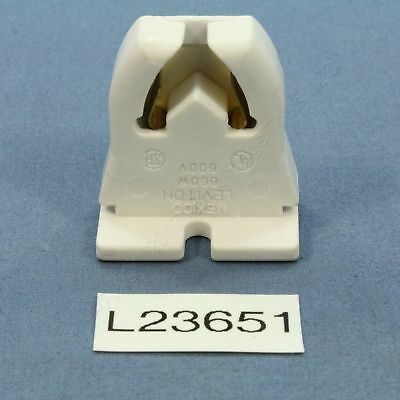 Leviton Fluorescent Lamp Holder T-8 Light Socket T8 Medium Bi-Pin G13 Base 23651