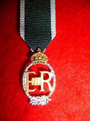 UK - RNR Miniature Medal, Royal Naval Reserves, Navy, Decoration, Elizabeth II