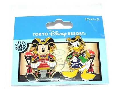 Disney Pin Trading Tokyo Disney Resort Mickey Mouse Donald Duck Japan Costume