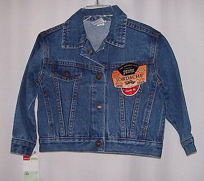 New with tags girls or boys denim jeans jacket Jordache 18 mo NWT