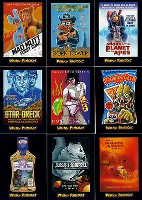 Wacky Packages Go To The Movies 2018 Topps Complete Base Card Set Of 90 Sf