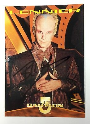 Billy Mumy Signed Babylon 5 Card, Coa & Mystery Gift