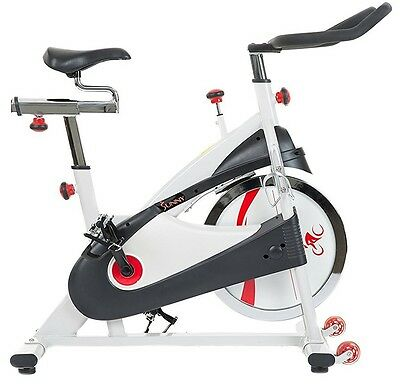 Sunny Belt Drive Premium Indoor Cycling Cycle Training Upright Exercise Bike NEW
