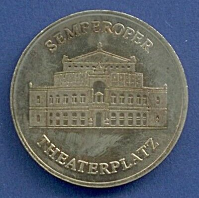 Medaille Dresden Semperoper Theaterplatz Ø 35 mm A3/142
