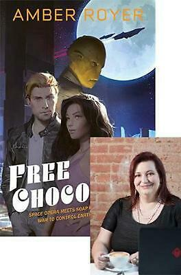 Free Chocolate by Amber Royer Paperback Book Free Shipping!