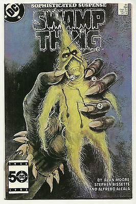 Swamp Thing 1985 #41 Very Fine/Near Mint Alan Moore