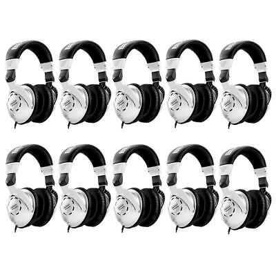 Behringer 10 Pack HPS3000 High-Performance Studio Headphones #HPS3000 10