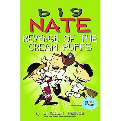 Big Nate: Revenge of the Cream Puffs - Library Binding NEW Lincoln Peirce  6 Sep