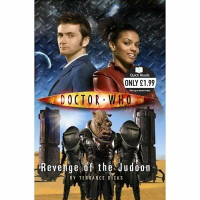 Doctor Who: Revenge of the Judoon (Quick Reads) - Paperback NEW Dicks, Terrance