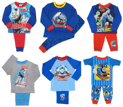 Boys Thomas Pyjamas Various Styles 18-24mths 2-3 Years 3-4 Years 4-5 Years SALE