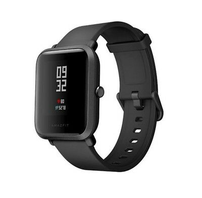 Xiaomi Huami Amazfit Bip Lite Smart Watch Fitness Tracker / Black / Schwarz )NEU