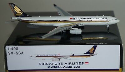 PANDA MODELS pm-9v-ssa Airbus a330-343 Singapore Airlines 9v-ssa in 1:400