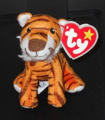 Ty Teenie Beanie ~ OASIS #28 the Tiger Toy Plush Doll NEW 2009 McDONALD'S