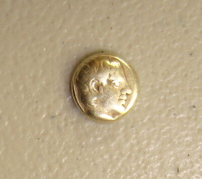 454-427 BC Lesbos, Mytilene Ancient Greek Electrum 1/6 Stater Hecte F