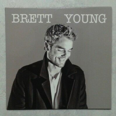BRETT YOUNG rare CD independent issue I DON'T CARE trade you JENNY LANE