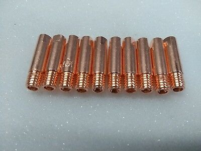 M6 X 25 MIG CONTACT TIPS 1.0 mm MULTI PACKS MB14 MB15 EVO15 UK STOCK