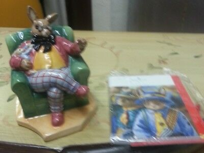 Royal Doulton ONCE UPON A TIME BUNNYKINS figurine Excellent Cond FREE P&P BOXED