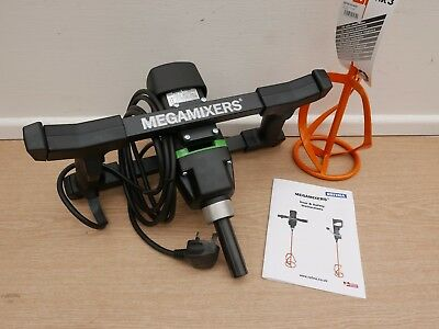 Refina Megamixer Mm21 240V 1150W Plaster Mixer Drill & 140Mm Paddle + Float